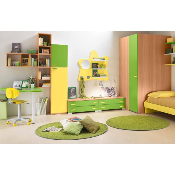 Otroška soba Colombini Volo V310