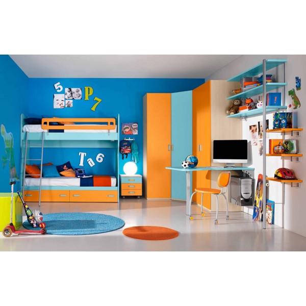 Otroška soba Colombini Volo V312