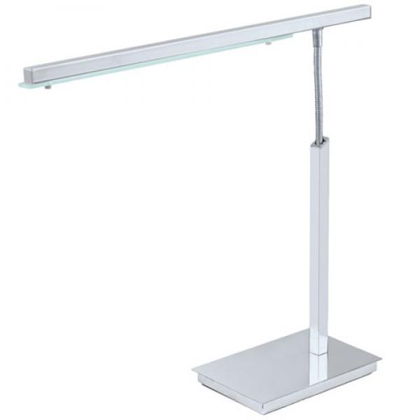 LED namizna svetilka Pan 90768-9 - gladek aluminij