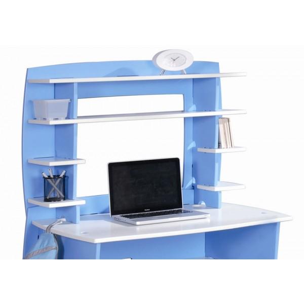 Pisalna miza FUR23 Modra: detajl