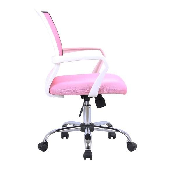 Pisarniški stol Lili - roza