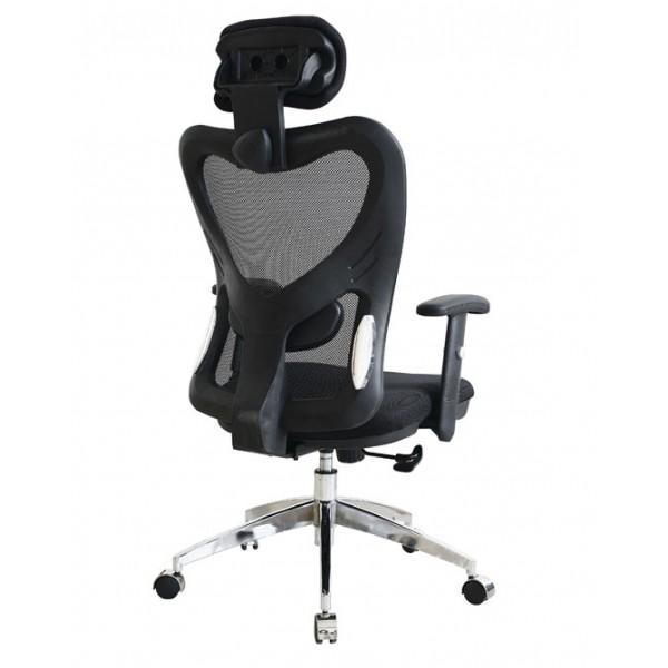Pisarniški stol NI19: Črna