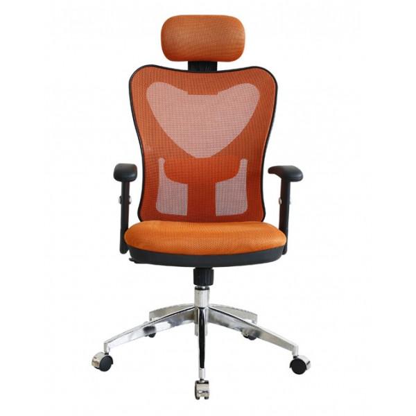 Pisarniški stol NI19: Oranžna