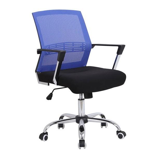 Pisarniški stol Viktor - modra
