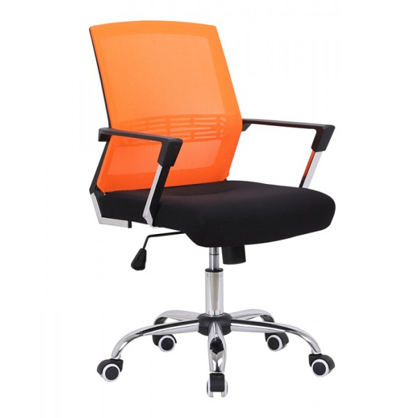 Pisarniški stol Viktor - oranžna