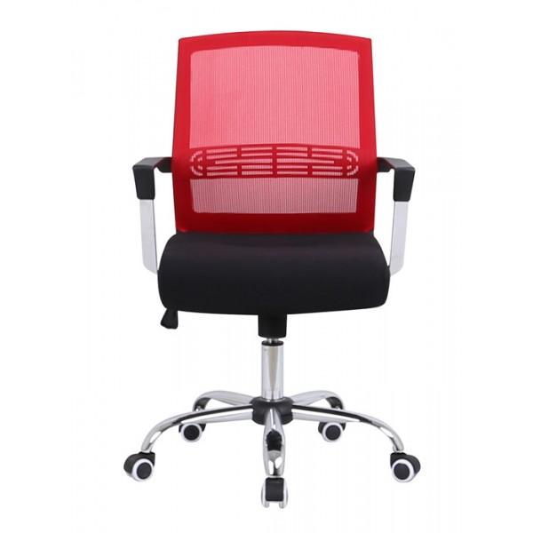 Pisarniški stol Viktor - rdeča