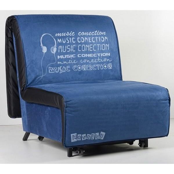 Multifunkcijski počivalnik Novelty z ležiščem - Vzorec: Music