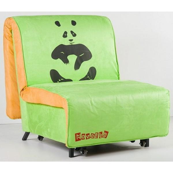 Multifunkcijski počivalnik Novelty z ležiščem - Vzorec: Panda