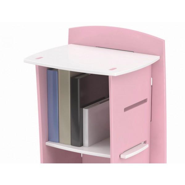 Poličnik FUR23: roza detajl