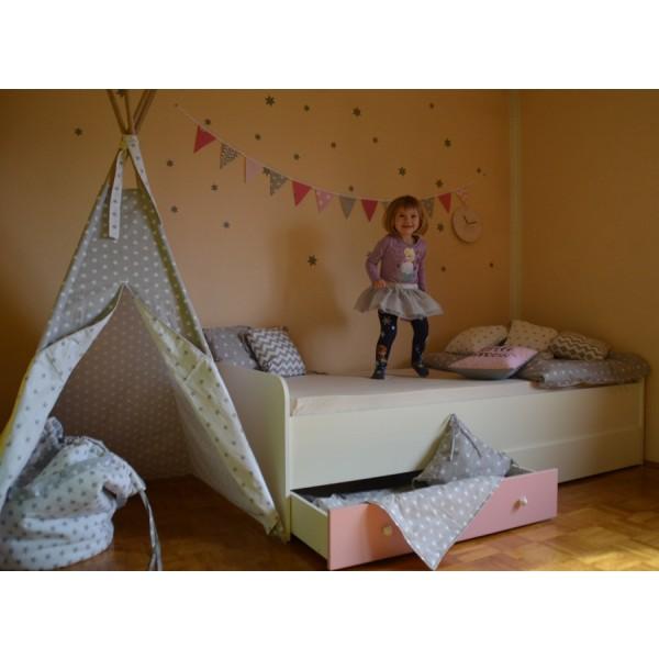 Otroška postelja Medvedek 1: dodatek predalnik - simbolična slika