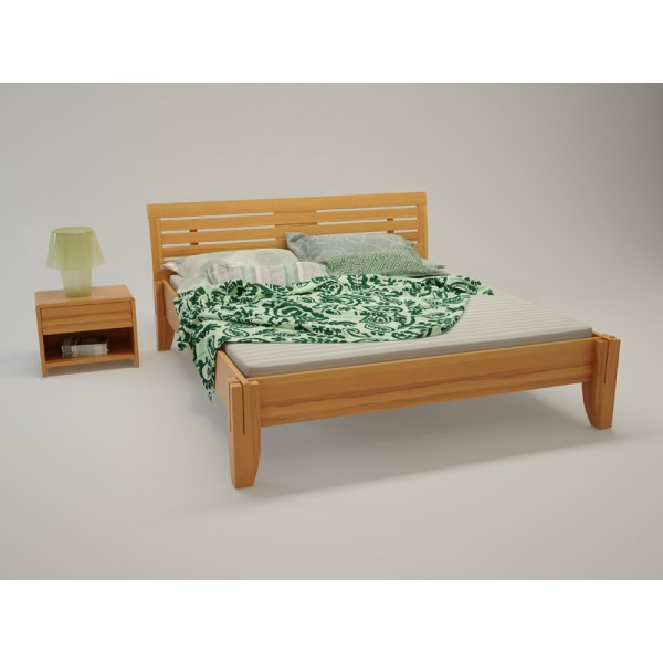 BIO postelja Paron TIP 3 - bukev