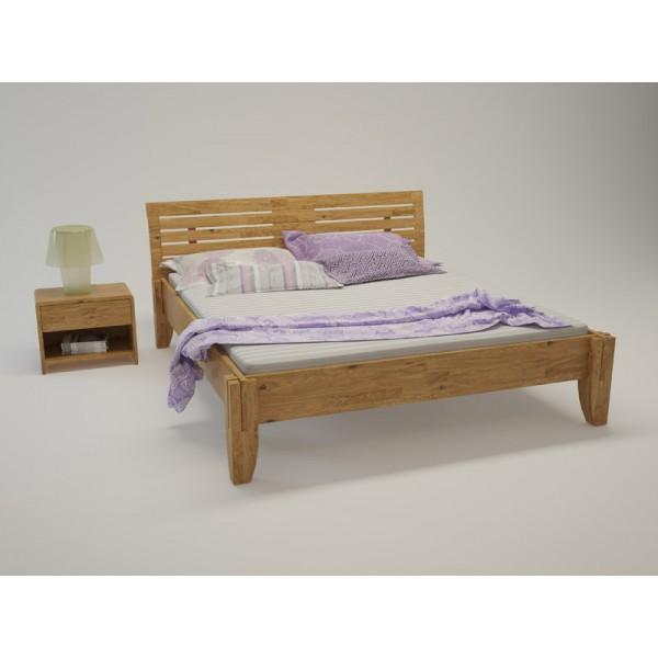 BIO postelja Paron TIP 3 - hrast