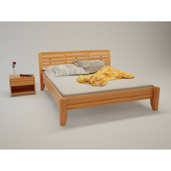 BIO postelja Paron TIP 4 - bukev