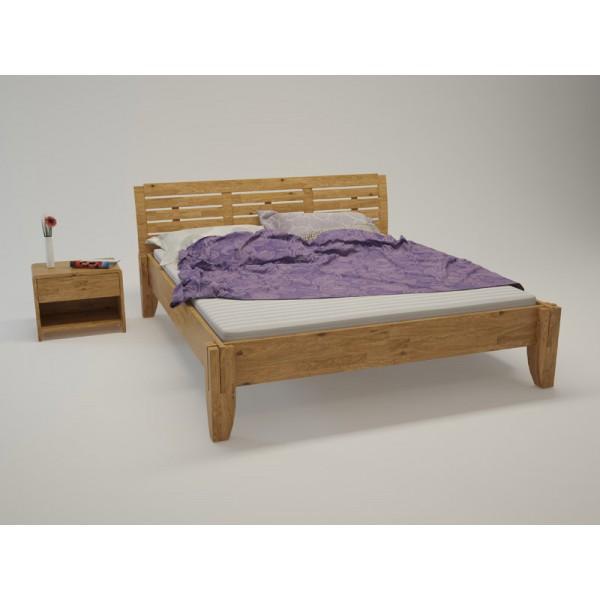 BIO postelja Paron TIP 4 - hrast