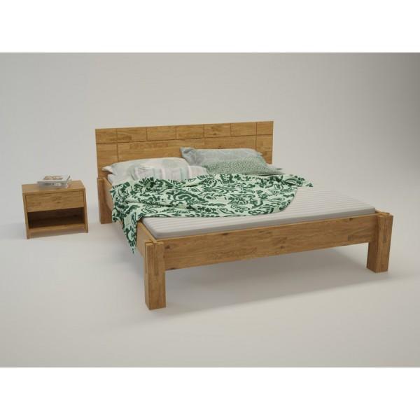 BIO postelja Paron TIP 5 - hrast