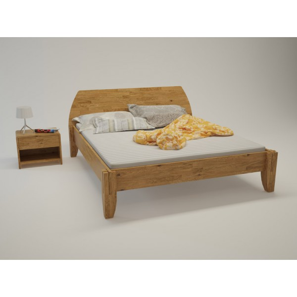 BIO postelja Paron TIP 6 - hrast
