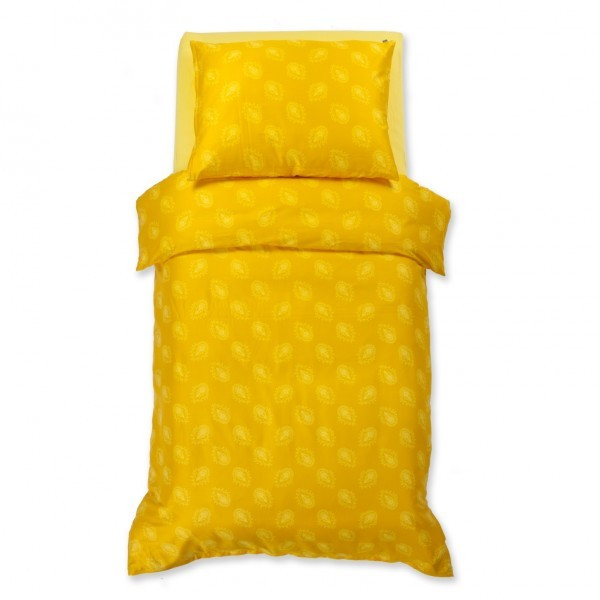 Posteljnina HARMONY: rumena