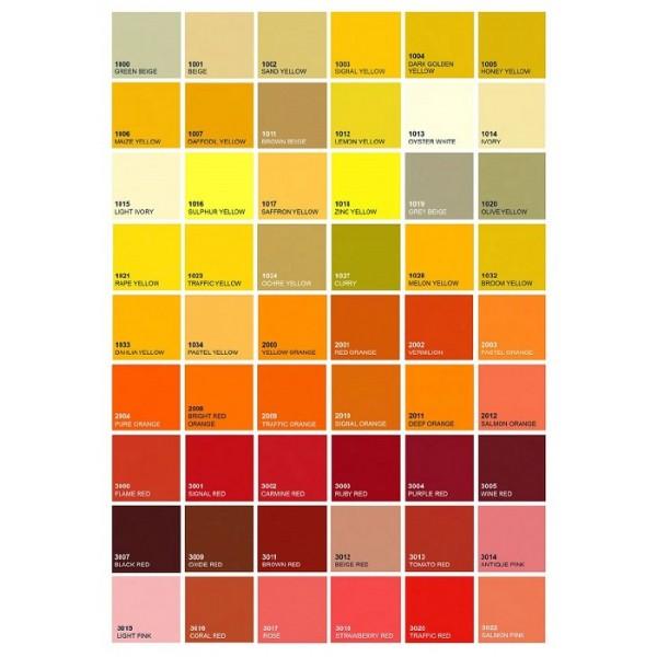Kovinska postelja KORIDA K5 - Barve: RAL lestvica