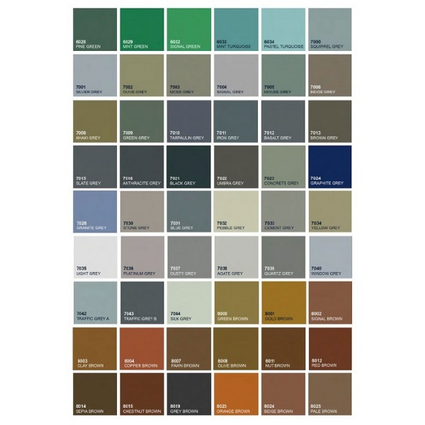 Kovinska postelja VIDA M5 - Barve: RAL lestvica