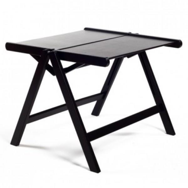 REX miza (vec barv) Črna