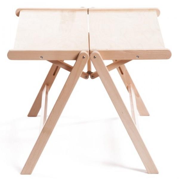 REX miza (vec barv) Naravna