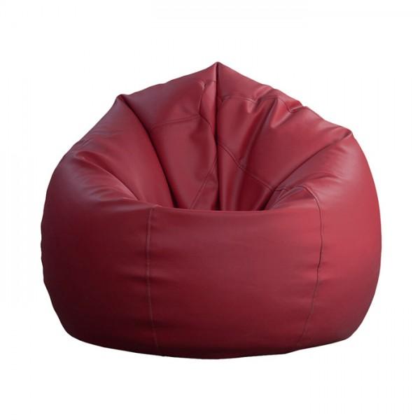 Sedalna vreča Lazy bag (XXL) - bordo rdeča