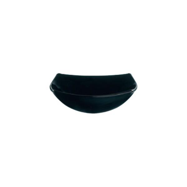 Skleda Quadrato Črna 14 cm