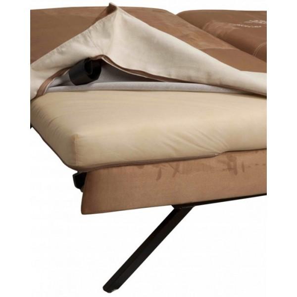Multifunkcijski počivalnik Novelty z ležiščem - snemljiva prevleka