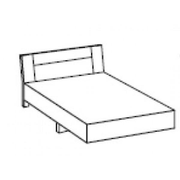 Spalnica ILONA - postelja