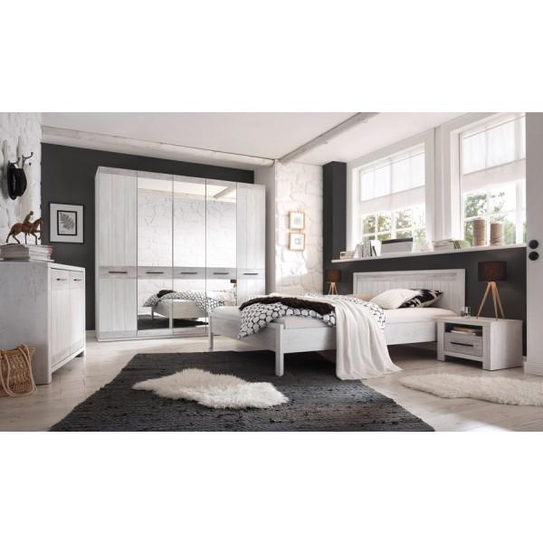4-delna Garderobna omara Provence 20 - spalnica Provence - simbolična slika