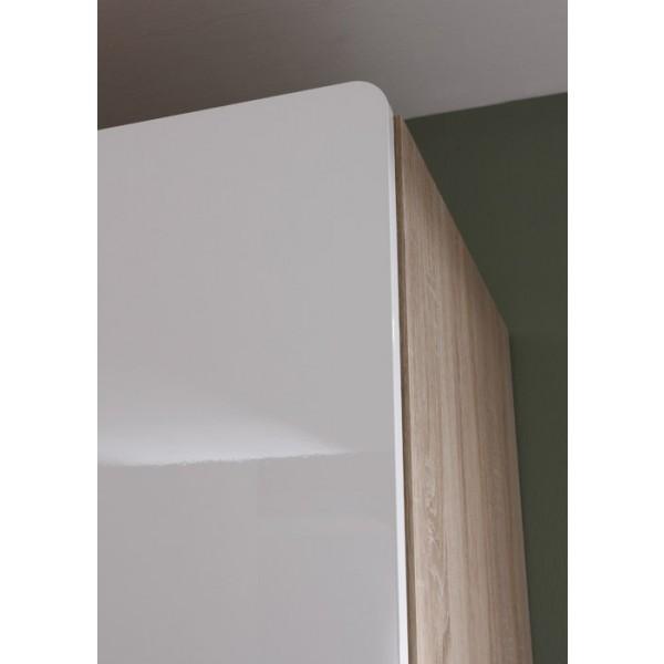 3-delna garderobna omara Selene (temna) - simbolična slika