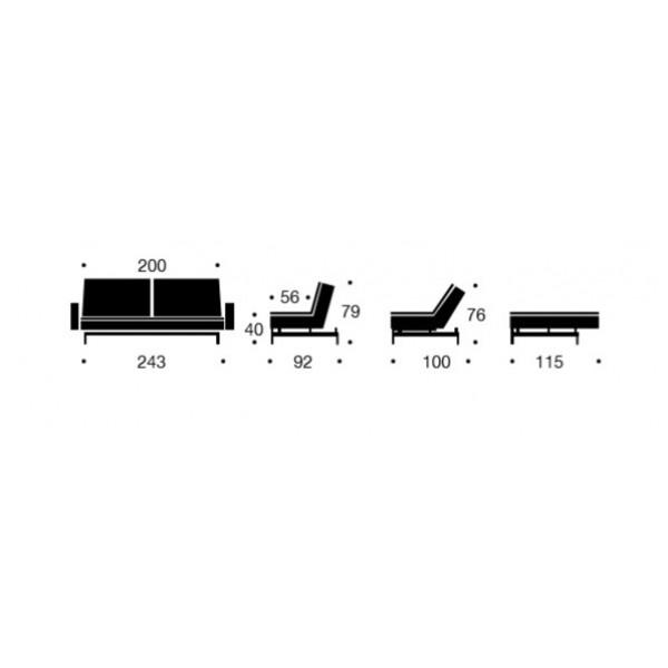 Dimenzije kauča