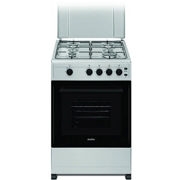 Komplet kuhinja Azur Line- larice grey, 250/260 cm - Štedilnik Simfer F 3401 SGRIG