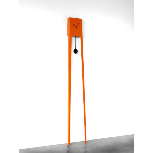 Stenska ura Tiuku - oranžna