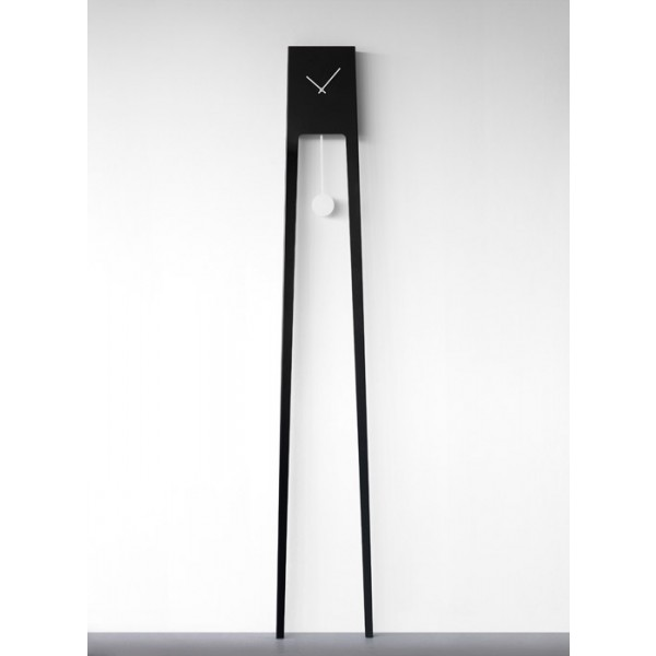 Stenska ura Tiuku - črna