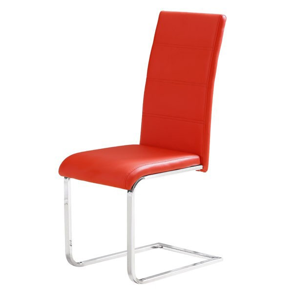 Jedilni stol JOSEF - Rdeča