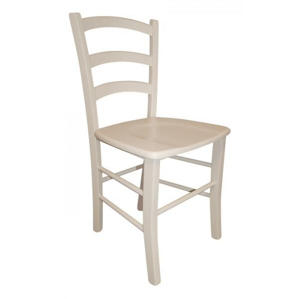 Stol Paesana: masivno sedišče - bela