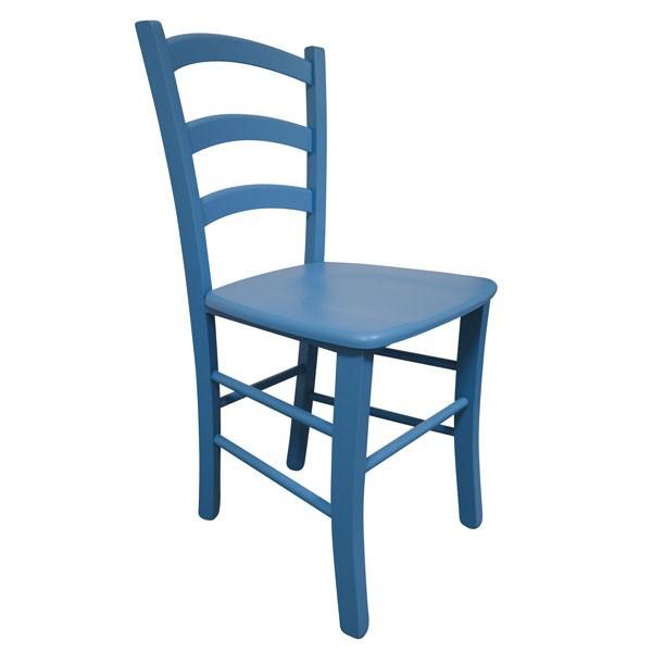 Stol Paesana: masivno sedišče - modra