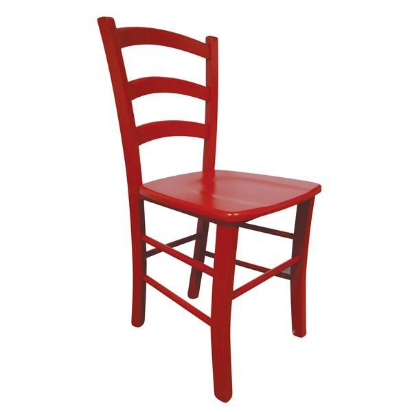 Stol Paesana: masivno sedišče - rdeča
