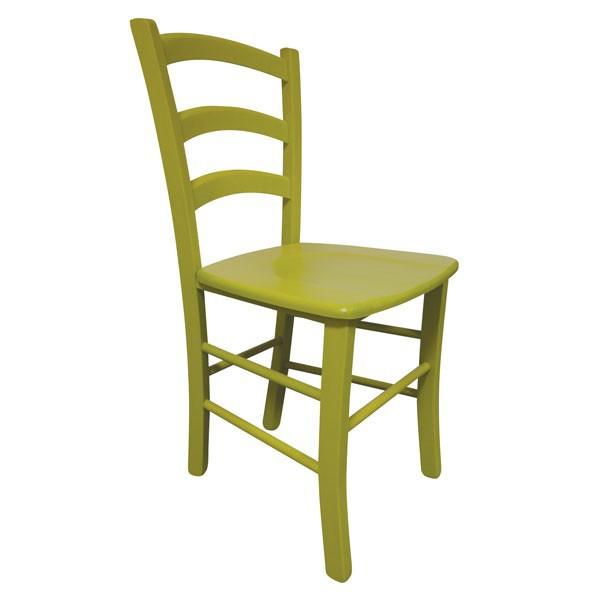 Stol Paesana: masivno sedišče - zelena