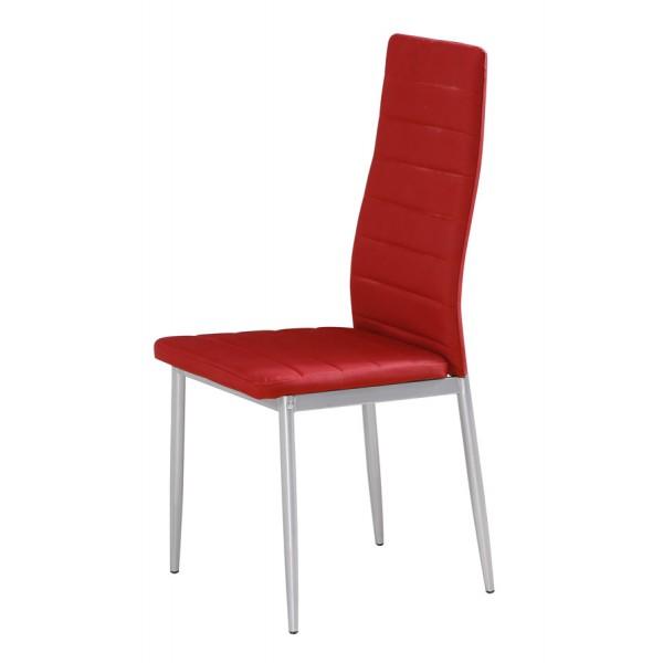 Stol za jedilnico Jealousy: rdeča