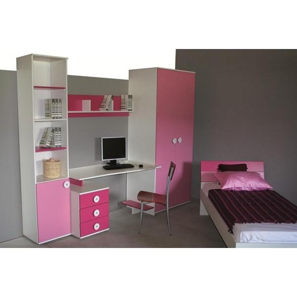 Otroška soba TEEN COLOURS - roza