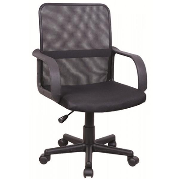 Pisarniški stol TOBI (črna)