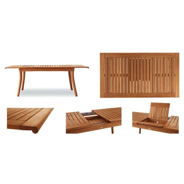 Vrtna miza Harmony: detajli
