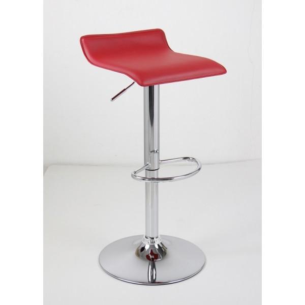 Barski stol WAVE (rdeča)