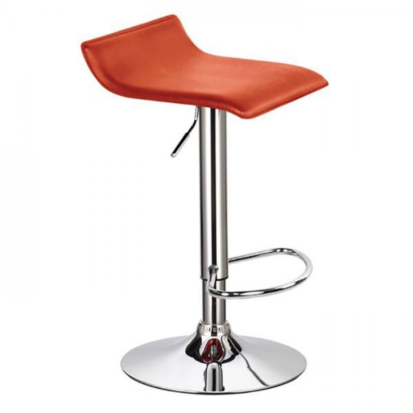 Barski stol WAVE (oranžna)