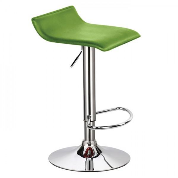 Barski stol WAVE (zelena)