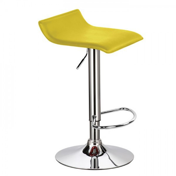 Barski stol WAVE (rumena)