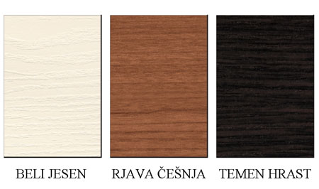 Postelja Miraggio Sierra: barve