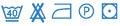 Posteljnina Midi&Maxi Modra dvojna - vzdrževanje